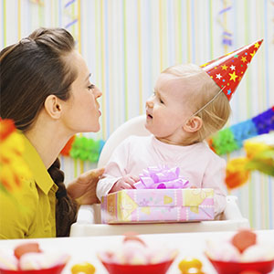 Birthday for infant