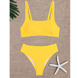 square bikini