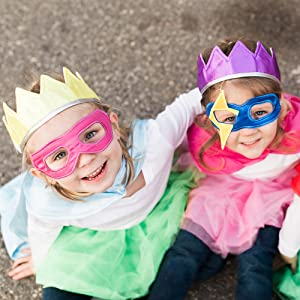 Princess Crown superhero mask tutu royal hero