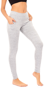 high waist yoga pants women workout tights pockets tummy control athletic running leggings plus