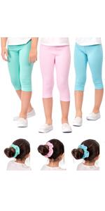 girls capri capris leggings size 7 girl's for kids to 12 leggins 8 childrens girl legging 6 soft