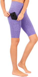 high waist yoga pants women shorts bike tummy control athletic running leggings plus size pilates