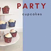 Cowboy cupcake tower, 3 tier cupcake stand with bandana and denim cupcakes for cowboy theme