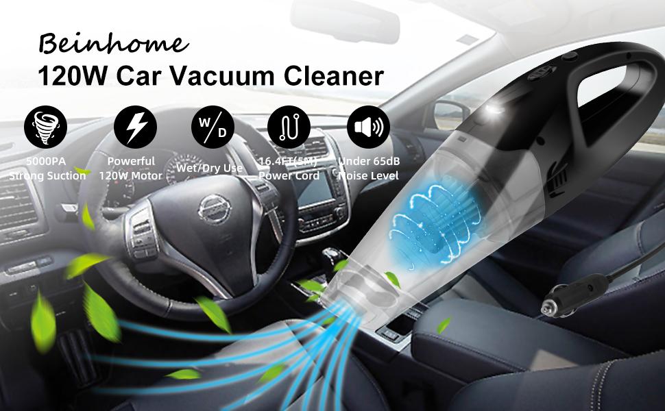 120W Car Vacuum Cleaner