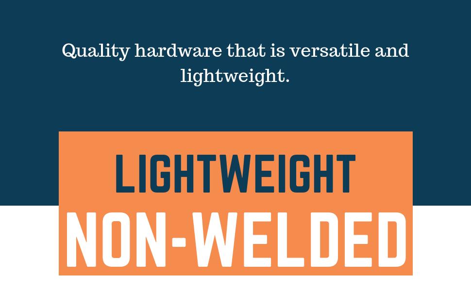 non welded lightweight