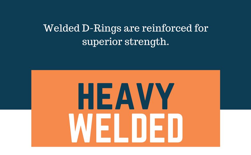 welded d ring heavy duty