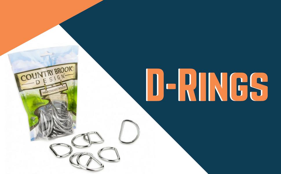 heavy welded d rings