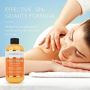 spa quality massage gel