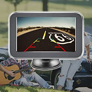 Wireless Reversing Monitor