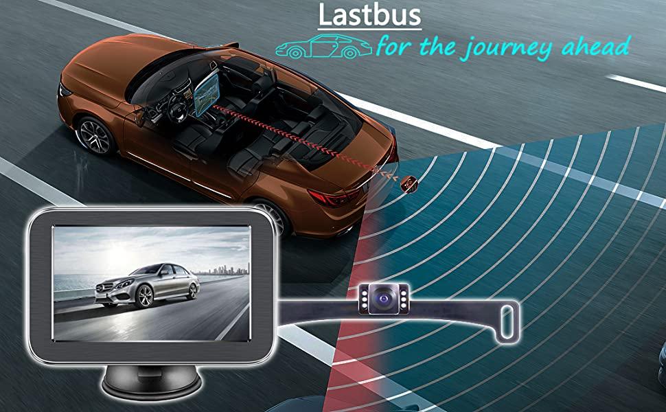 Wireless Backup Camera with Monitor