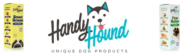Handy Hound All-natural Organic Unique Dog Products for Paw and Snout with Sunscreen