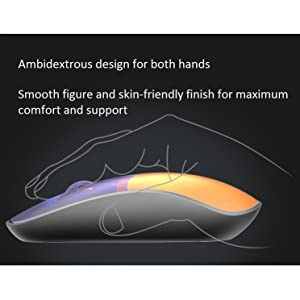 Rapoo Wireless Optical Mouse Silent