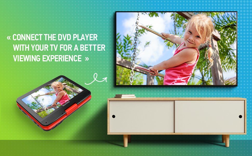Pair DVD player with your TV