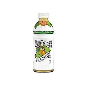 honey, ginseng, yerba mate, mate, te mate, ice tea, iced tea, herbal mist, green tea, bottled tea
