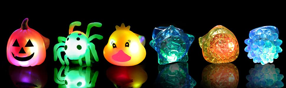light up party favors
