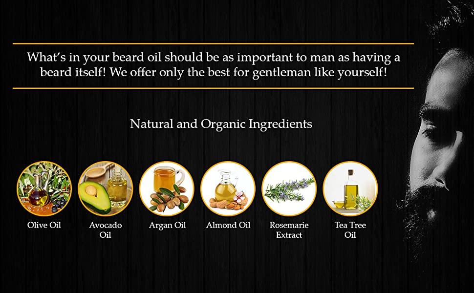 polished gentleman beard oil ingredients