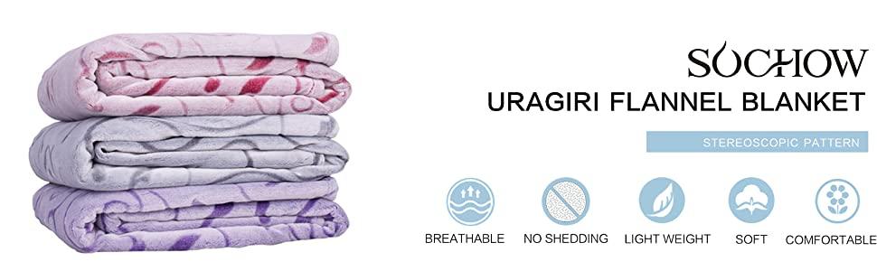 SOCHOW Uragiri Flannel Blanket