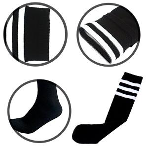 soccer shin guards with long soccer socks