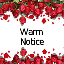 warm notice