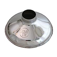 Spice Funnel, AllSpice, Kitchen, Organization, Storage, Cooking, Stainless Steel