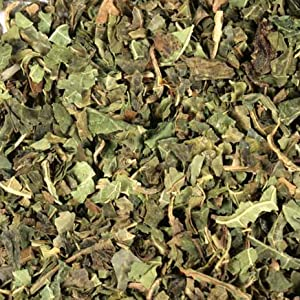dried organic herbal papaya leaves