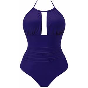 Women's One Piece Swimsuits Tummy Control Swimwear