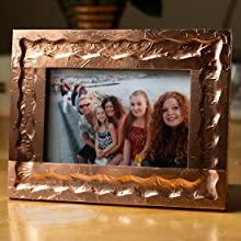 copper tape, copper, tape, photo frame, frame, photo, family, emboss, embossing, gift, craft