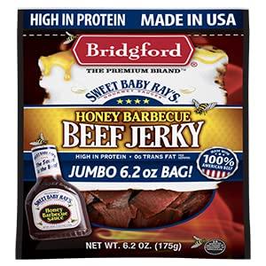 Honey bbq beef jerky