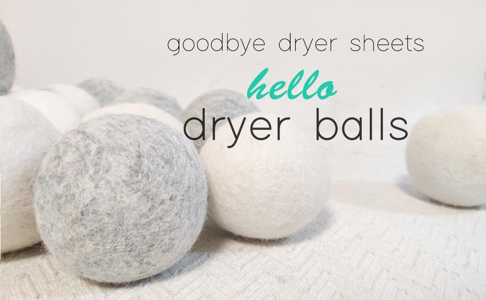 lint dryer balls
