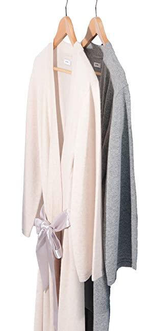 cashmere robe, tan cashmere robe grey cashmere robe, long cashmere robe, short cashmere robe