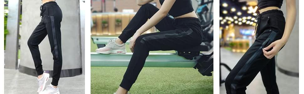 Skinny Slim Fit Sport Yoga Gym Running Pilates Workout Training Running Casual Sweatpants Yoga Pants