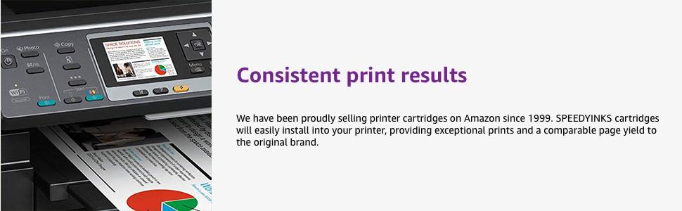 Crisp print results