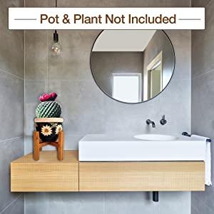 rustic home decor plant stands indoor plant shelf mid century