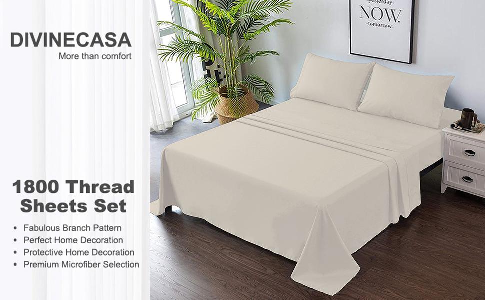 Microfiber Bed Sheet Set