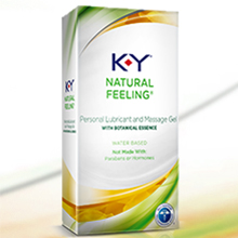 K-Y Natural Feeling with Botanical Essence Lubricant & Message Gel 1.69 oz