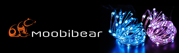 Decor rgb string lights Moobibear