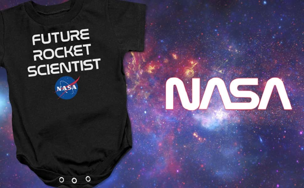 Nasa Baby one piece bodysuit snapsuit