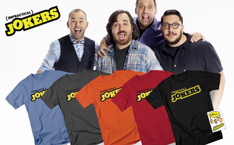 impractical jokers logo t shirt
