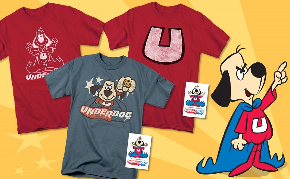 UNDERDOG t shirt, stickers, hoodie, merchandise