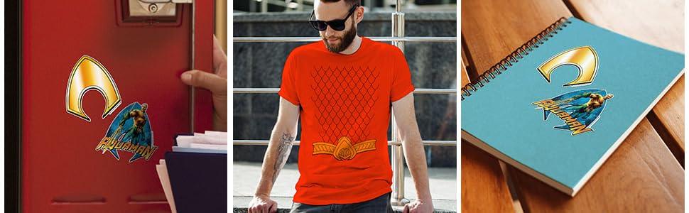 Aquaman t shirt, aquaman dc comics, aquaman stickers