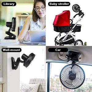 multi-use desk fan