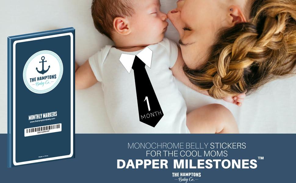 Baby first year belly stickers newborn month boy girl gifts for shower milestone my 12 24 onesie