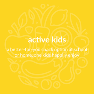 Better for you - snack option at school or home.  Kids will enjoy!