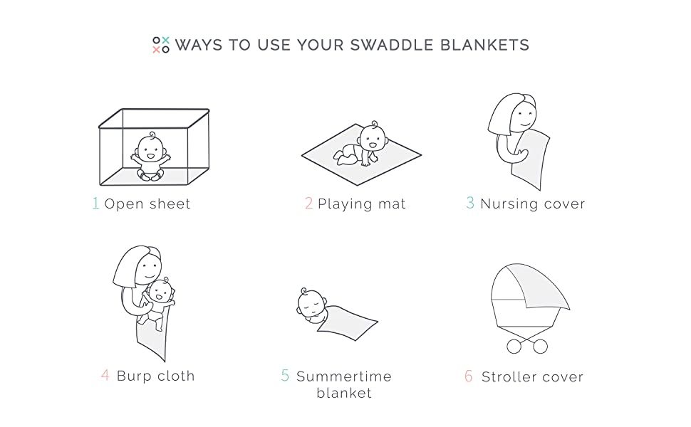 the softest swaddling blankets white nursing cover play mat crib sheet burp cloth stroller cover