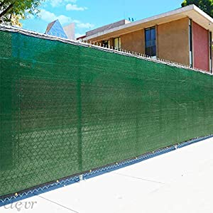 Green Privacy Fence Screen