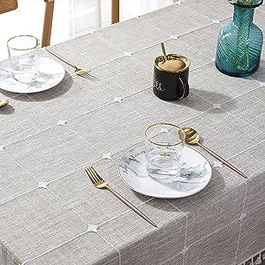 farmhouse table cloth