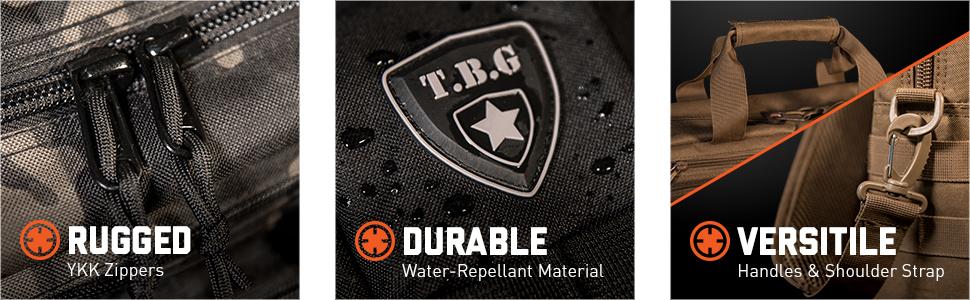 Rugged Durable Versatile Tactical Diaper Bag