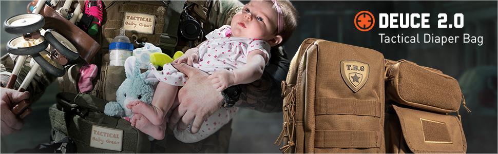Tactical Baby Gear Deuce 2.0 Tactical Diaper Bag