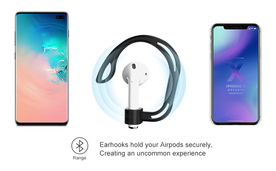 Earhook for AirPods