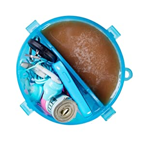Shaker Cup, Shaker Bottle, Dual Shaker, Hydracup